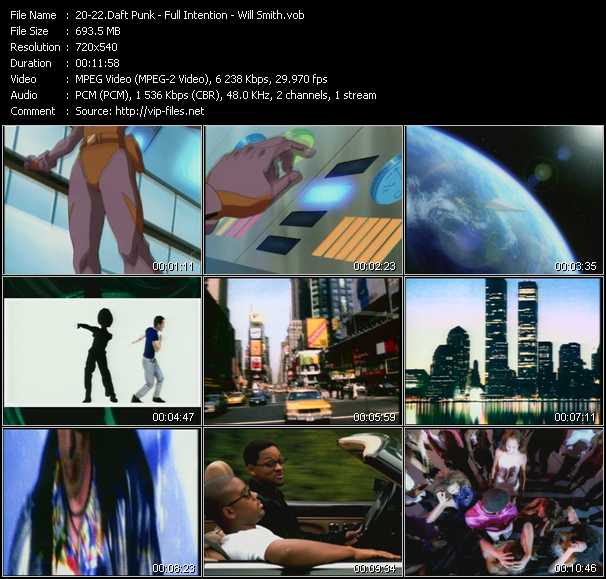 Daft Punk - Full Intention - Will Smith - Digital Love - America (I Love America) (Full Lenght 12 Inch Vocal Mix) - Miami (Miami Mix)