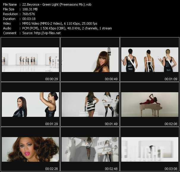 Beyonce - Green Light (Freemasons Mix)