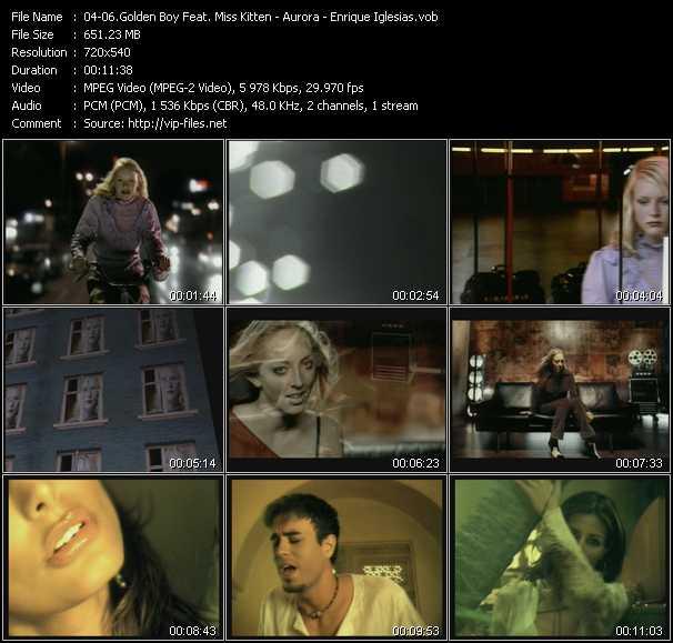 Golden Boy With Miss Kittin - Aurora - Enrique Iglesias - Rippin Kittin (Glove Tension Club Edit) - Dreaming (Original Edit) - Love To See You Cry (Metro Mix Edit)