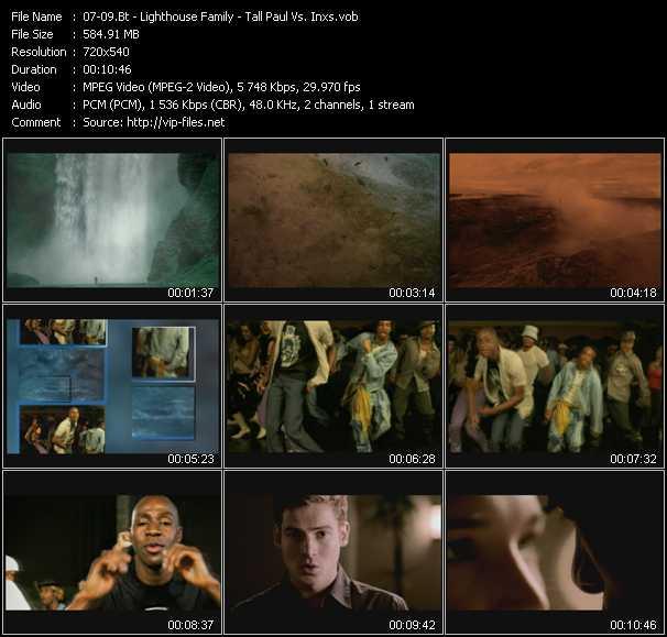 Bt - Lighthouse Family - Tall Paul Vs. Inxs - Remember (Mood II Swing Edit) - Happy (Rui Da Silva Edit) - Precious Heart (Original Edit)