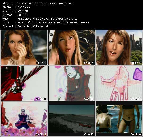 Celine Dion - Space Cowboy - Moony - I'm Alive (Johnny Rocks Rhythm Radio Edit) - I Would Die 4 U (Club Edit) - Dove (I'll Be Loving You) (Full Intention Vocal Edit)
