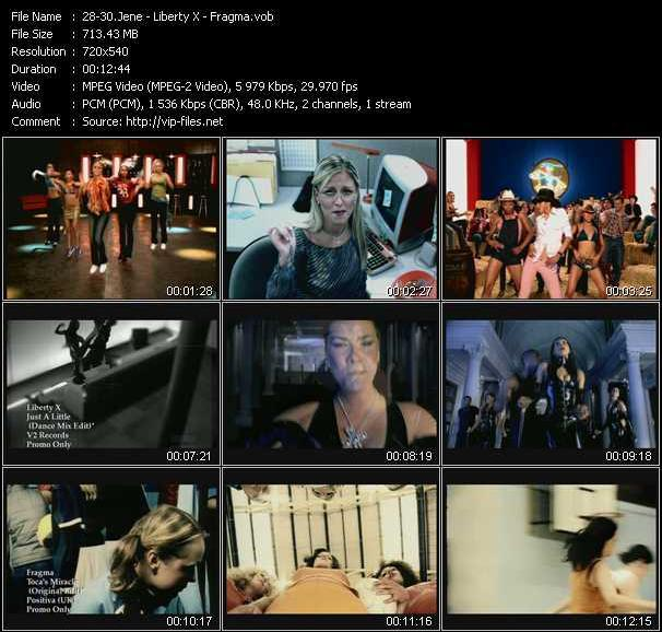 Jene - Liberty X - Fragma - Get Into Something (Dance Remix) - Just A Little (Dance Mix Edit) - Toca's Miracle (Original Edit)