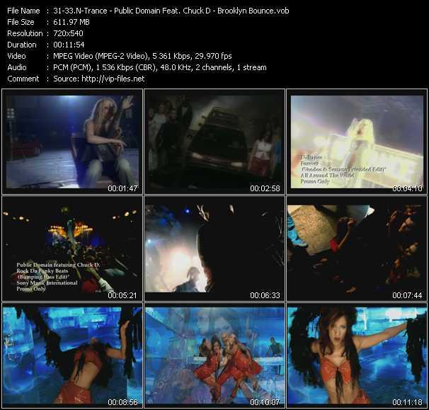 N-Trance - Public Domain Feat. Chuck D - Brooklyn Bounce - Forever (Voodoo And Serano Extended Edit) - Rock Da Funky Beats (Bumping Bass Edit) - Club Bizarre (Original Edit)