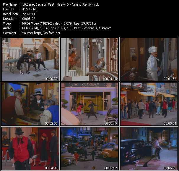 Janet Jackson Feat. Heavy D - Alright (Remix)