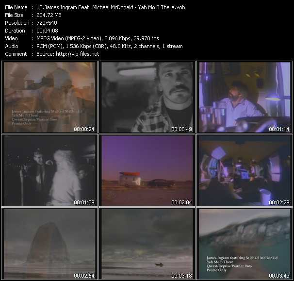 James Ingram Feat. Michael McDonald - Yah Mo B There