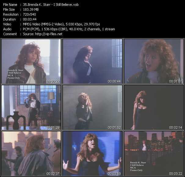 Brenda K. Starr - I Still Believe