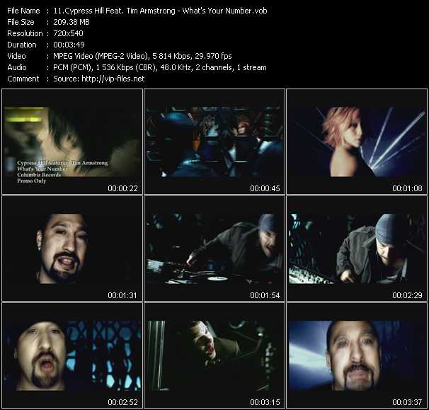 Cypress Hill Feat. Tim Armstrong - What's Your Number