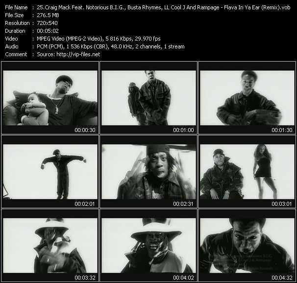 Craig Mack Feat. Notorious B.I.G., Busta Rhymes, LL Cool J And Rampage - Flava In Ya Ear (Remix)