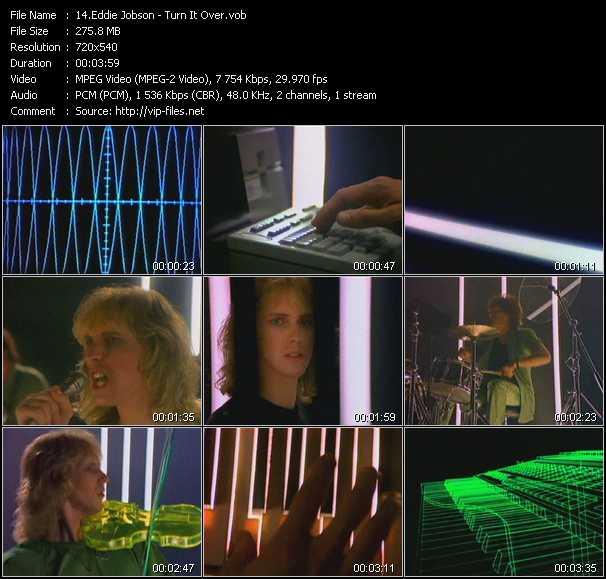 Eddie Jobson - Turn It Over