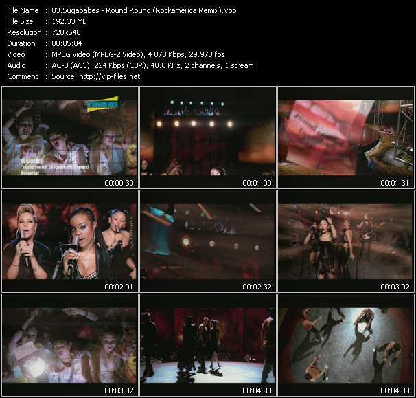 Sugababes - Round Round (Rockamerica Remix)