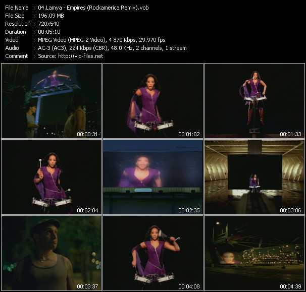 Lamya - Empires (Rockamerica Remix)