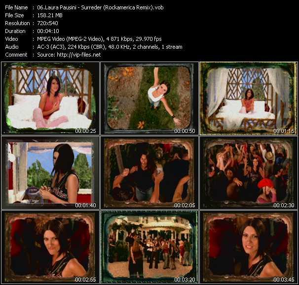 Laura Pausini - Surreder (Rockamerica Remix)