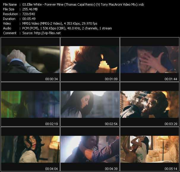 Ellie White - Forever Mine (Thomas Cajal Remix) (Vj Tony MacAroni Video Mix)