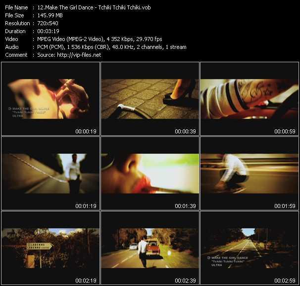 Make The Girl Dance - Tchiki Tchiki Tchiki