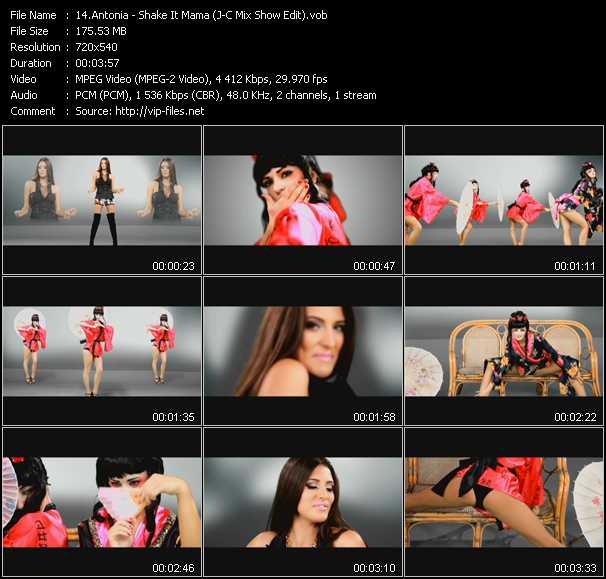 Antonia - Shake It Mama (J-C Mix Show Edit)