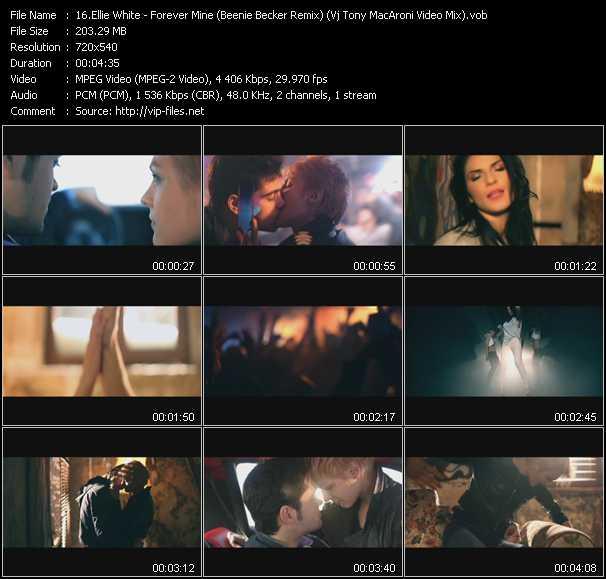 Ellie White - Forever Mine (Beenie Becker Remix) (Vj Tony MacAroni Video Mix)
