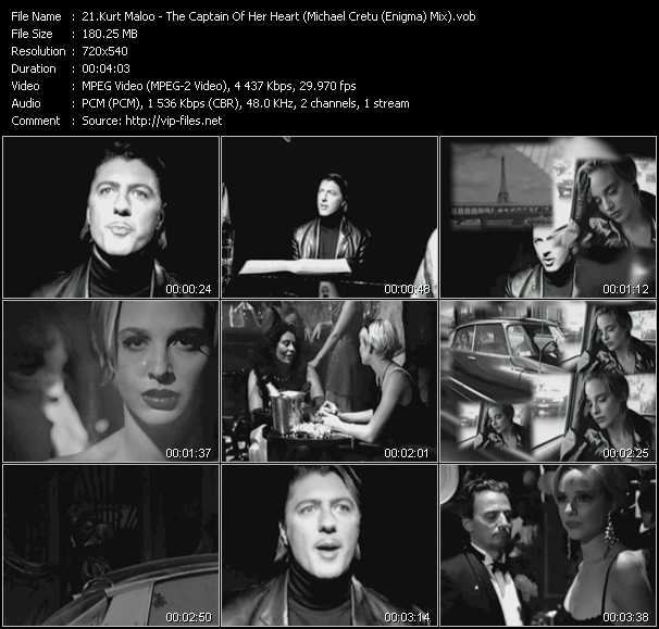 Kurt Maloo - The Captain Of Her Heart (Michael Cretu (Enigma) Mix)