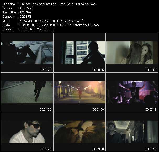 Matt Darey And Stan Kolev Feat. Aelyn - Follow You