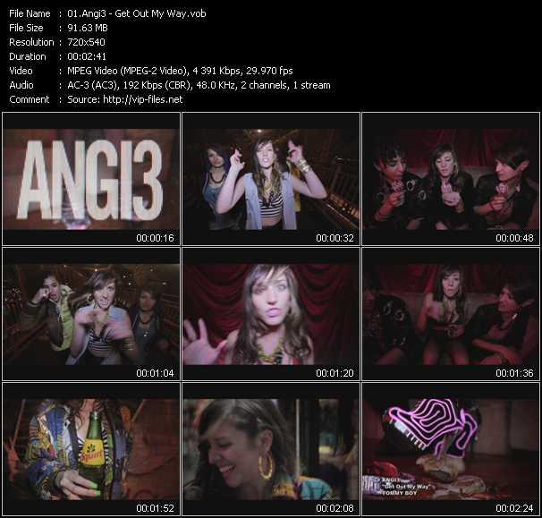 Angi3 - Get Out My Way