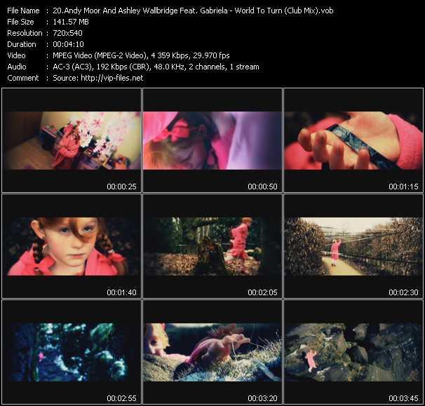 Andy Moor And Ashley Wallbridge Feat. Gabriela - World To Turn (Club Mix)