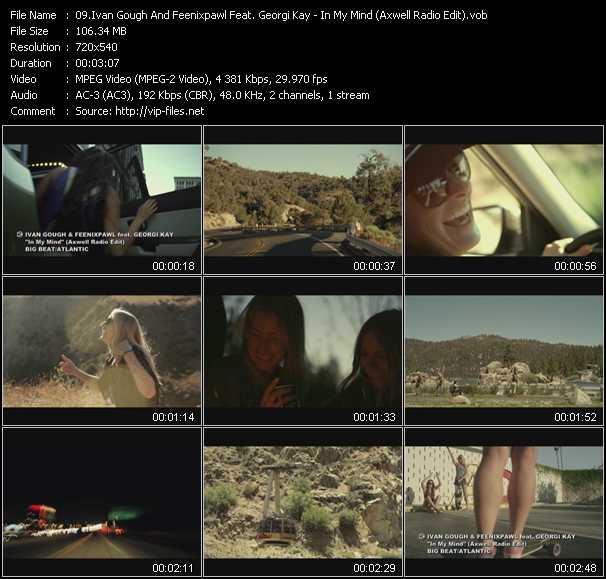 Ivan Gough And Feenixpawl Feat. Georgi Kay - In My Mind (Axwell Radio Edit)
