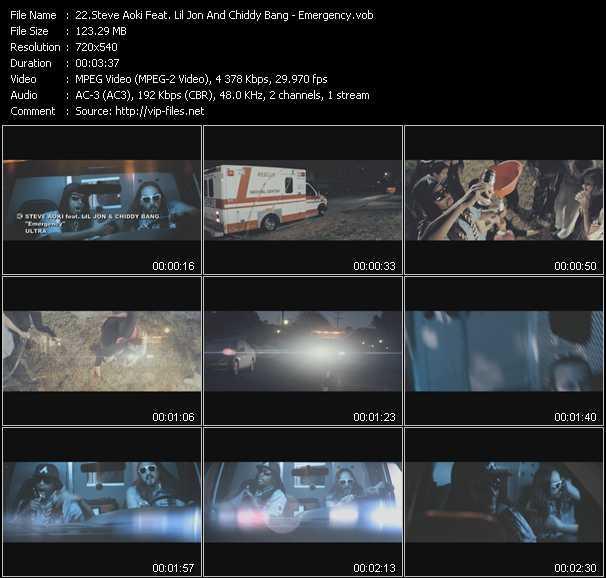 Steve Aoki Feat. Lil' Jon And Chiddy Bang - Emergency