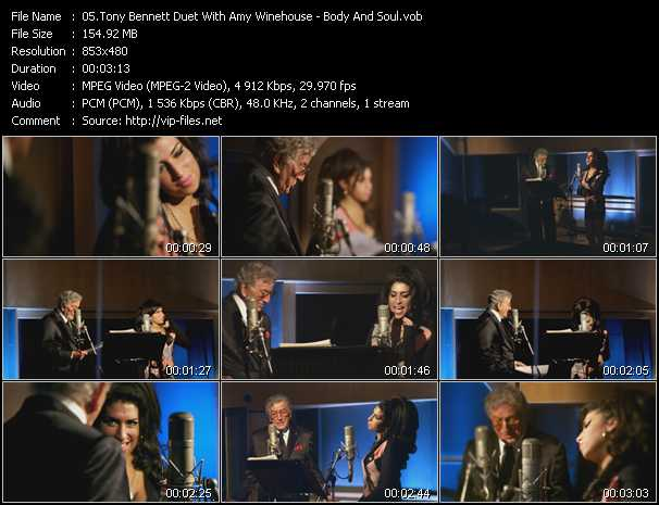 Tony Bennett Duet With Amy Winehouse - Body And Soul