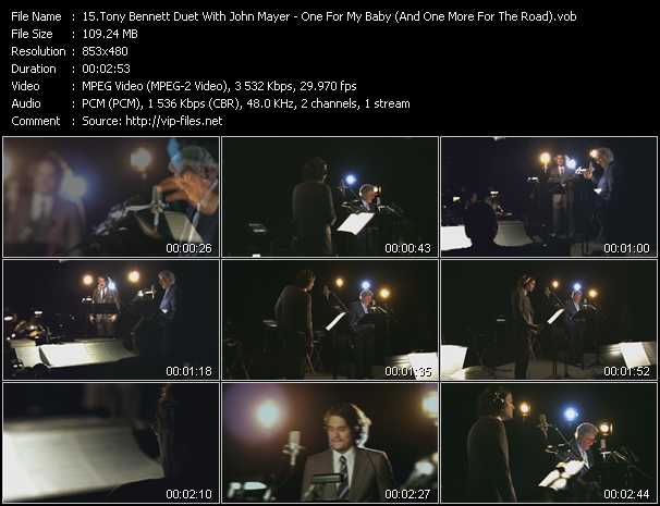 Tony Bennett Duet With John Mayer - One For My Baby (And One More For The Road)