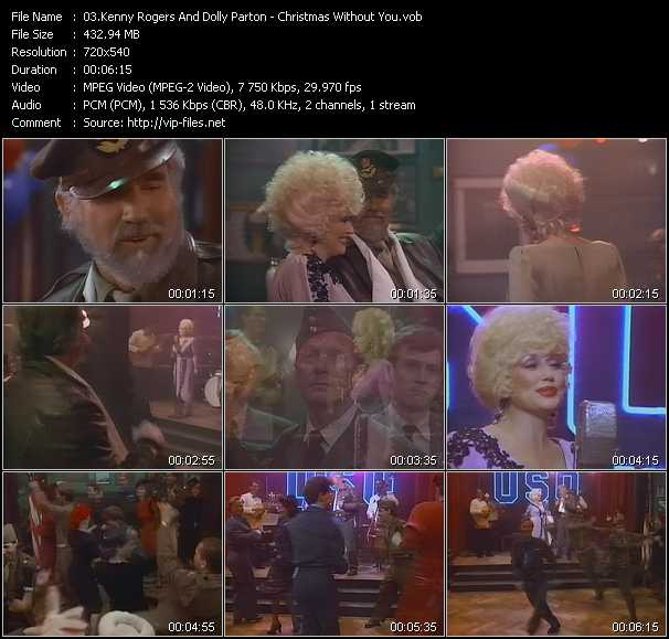 Kenny Rogers And Dolly Parton - Christmas Without You