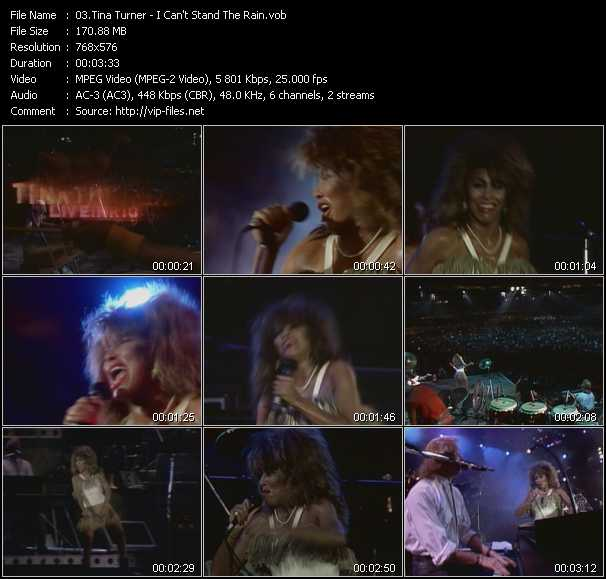 Tina Turner - I Can't Stand The Rain