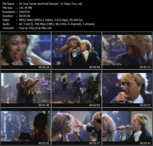 Tina Turner And Rod Stewart - It Takes Two