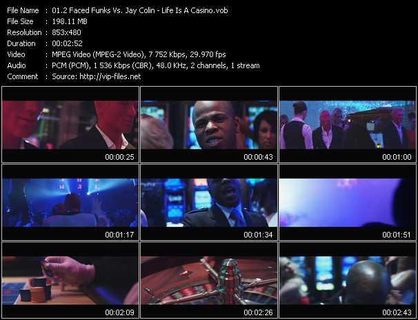 2 Faced Funks Vs. Jay Colin - Life Is A Casino