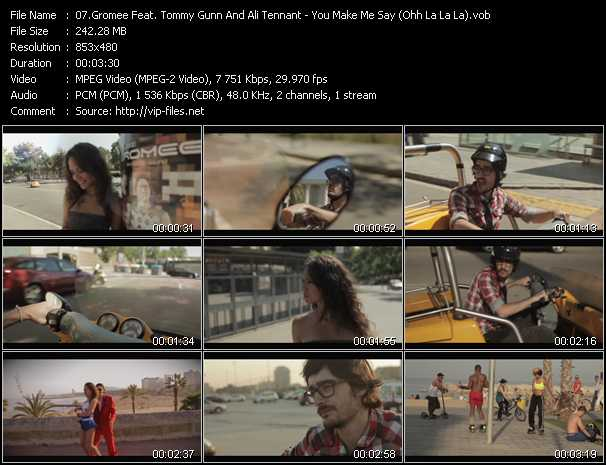 Gromee Feat. Tommy Gunn And Ali Tennant - You Make Me Say (Ohh La La La)