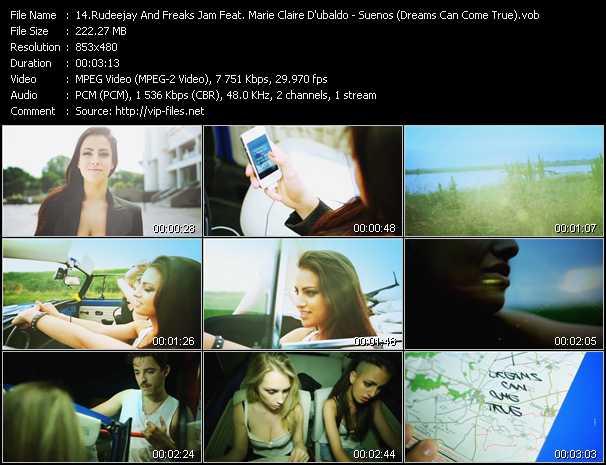 Rudeejay And Freaks Jam Feat. Marie Claire D'ubaldo - Suenos (Dreams Can Come True)