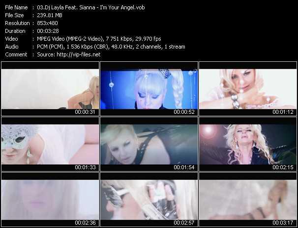 Dj Layla Feat. Sianna - I'm Your Angel
