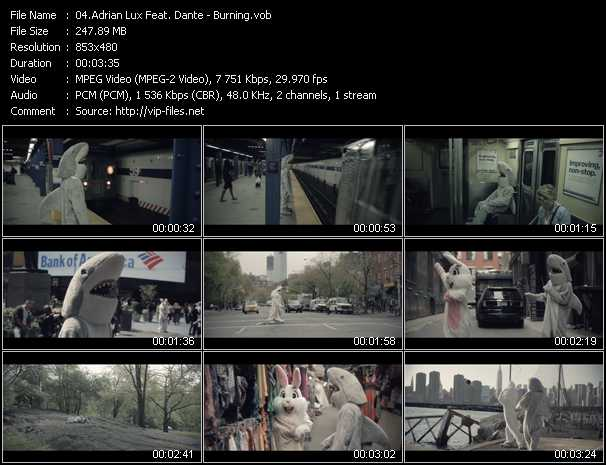 Adrian Lux Feat. Dante - Burning