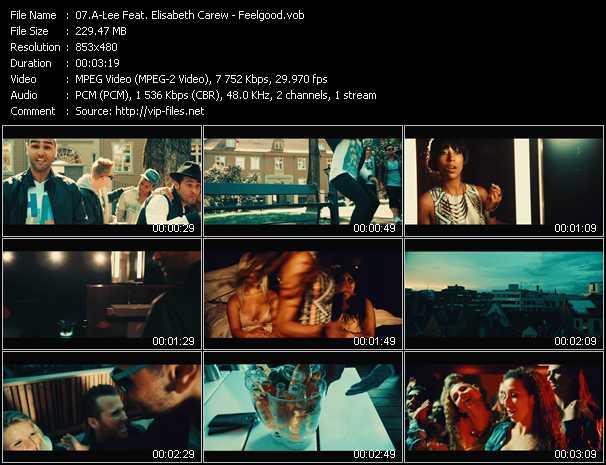 A-Lee Feat. Elisabeth Carew - Feelgood