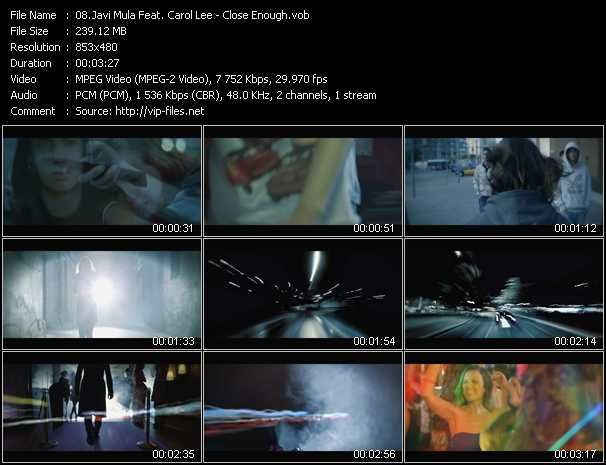 Javi Mula Feat. Carol Lee - Close Enough