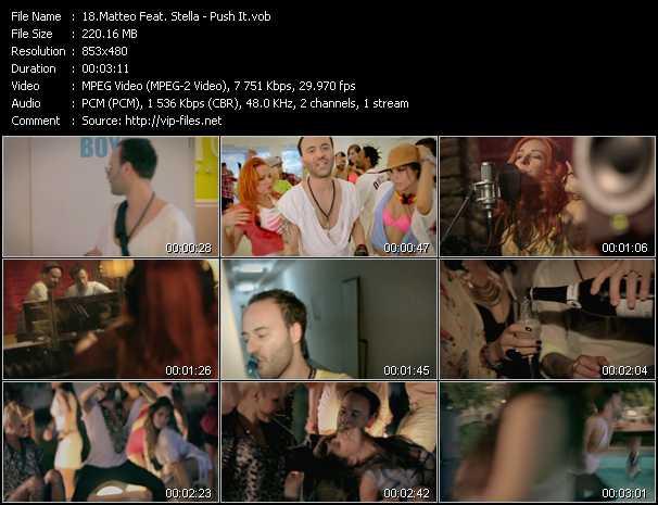 Matteo Feat. Stella - Push It