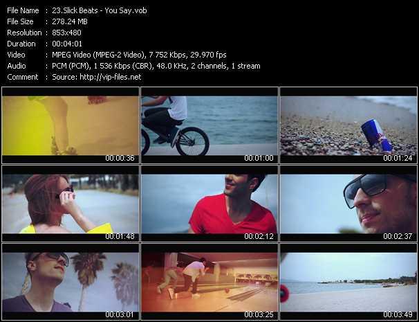 Slick Beats - You Say