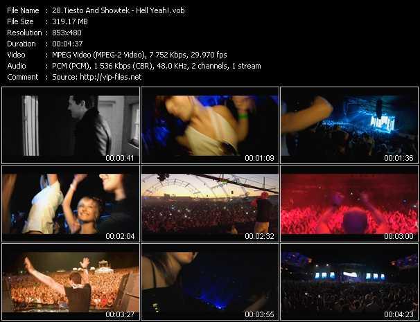 Tiesto And Showtek - Hell Yeah!