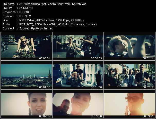 Michael Rune Feat. Cecilie Fleur - Vak I Natten
